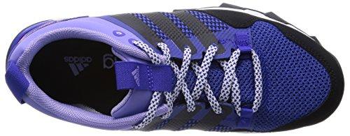 adidas Kanadia 7 Trail - Zapatillas de correr en montaña para mujer Night Flash S15/Core Black/Light Flash Purple S15