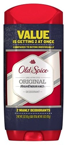 Old Spice Deodorant Original Solid 3oz Value Two At Once (3 Pack)