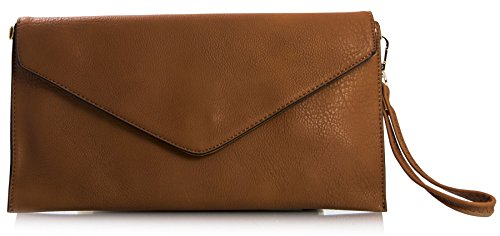 Strap With Lady Of Bhbs lxw Brown Cinnamon Imitation Long Cm 32x17 Leather Shoulder Type Hand Bag 8PFPwxBH