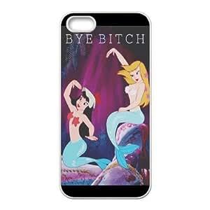 iPhone 5,5S Phone Cases Anime Mermaid AH133295
