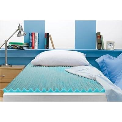 """Beautyrest 3.0"""" Reversible Memory Foam Mattress Topper, Queen"""