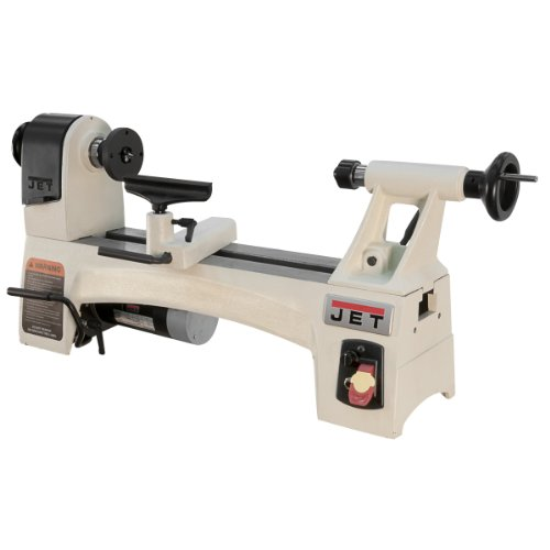 Jet JWL-1015VS 10-Inch X 15-Inch Variable Speed Wood Working Lathe by Jet