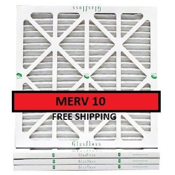 18 x 24 x 1、Glasfloss Industries , Inc。エアフィルタ、MERV 8 B01B3KAQG8