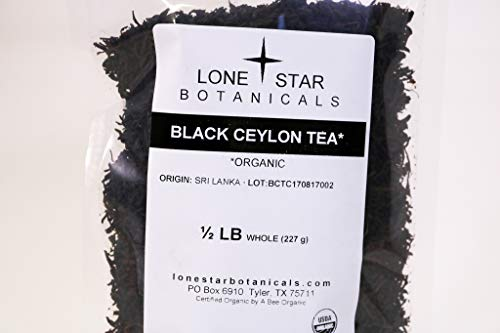 Black Ceylon Tea ½ lb
