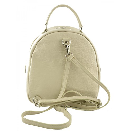 Leather Throws Real Leather Bags Bag In Women Dream Back Leather In Italy Made Italy For Beige Artificial Fur Genuine Backpack xYBw8qZw