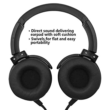Amazon.com: Headphones Lightweight with Mic Over Ear 3.5Mm ...