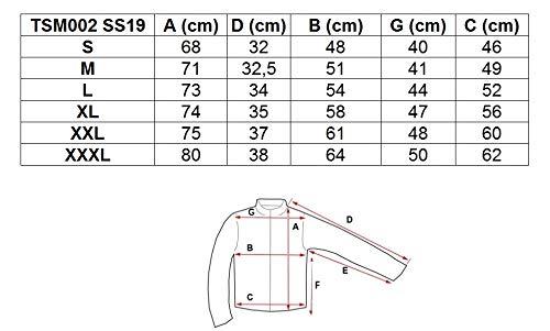 Dunekelblau 4f de Tsm002 Camiseta redondo para hombre Melliert cuello Ss19 rqCrdx8