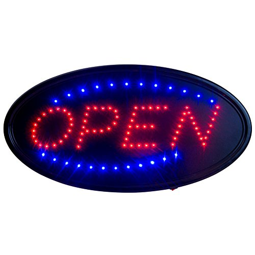 Review LED Open Sign for