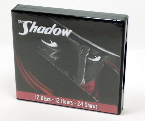 The Shadow Radio Treasures - Old Radio Program - 24 Episodes on 12 AUDIO CDS