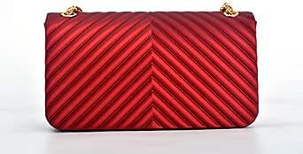 حقيبة للنساء-احمر - حقائب الكتف