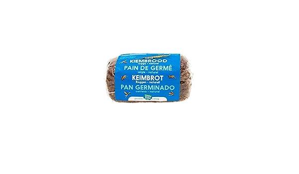 PAN GERMINADO DE CENTENO 400 GR BIO: Amazon.es: Alimentación ...