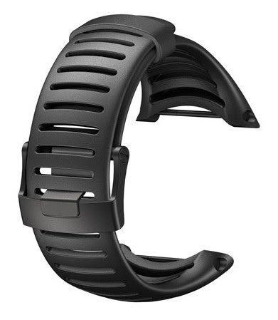 Suunto Core Accessory Strap Light Elastomer All Black, One Size by Suunto (Elastomer Strap)