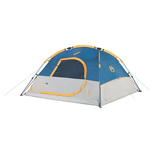 Coleman Camping 3 Person Flatiron Instant Dome Tent   B01N8W7EQX