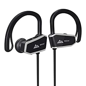 WeCool Joggerz WCZ10 Bluetooth Headset Wireless || Sports Headsets || Bluetooth Earphone || Bluetooth Earphones for Mobile with mic for Music and Hands-Free Calling Free Carry Case
