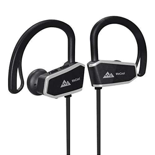 WeCool JOGGERZ WCZ10 Bluetooth Earphones for Mobile with High bass or Buetooth Earphone Wireless with Mic or Wireless Earphones for Music and Calls with 6 Hours of Battery + Free Carry Case
