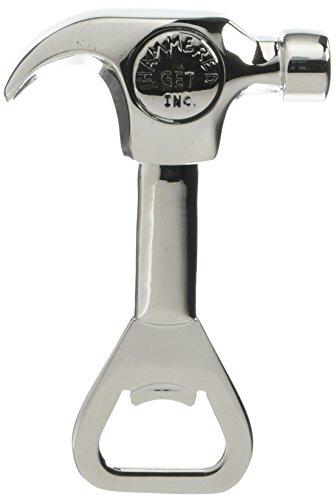 Hammer Bottle Opener - Thirstystone Bottle Opener-Handyman Hammer, Silver