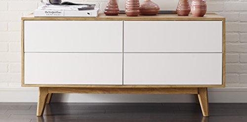 Elle Decor FSDGSLOAKR02 Elle Deco Giselle - Modern Buffet Cabinet