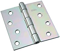National Hardware N140-020 504BC Removable Pin Broad Hinge in Zinc plated