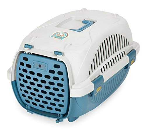 L Small Kennel Easy to Clean Portable Pets Moisture-Proof Breathable Kennel Removable air cage (Size   L)