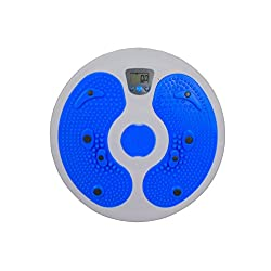 quad77 New Digital LCD Fitness Figure Trimmer Waist Twister Exercise Electronic Foot Massage Board Simply Fit Board Balance Boards Twister Exercise Board Twist Board Waist Twisting Disc