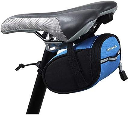 SUNTRADE Bicycle Saddle Bag Mountain Bike Saddle Back Bag