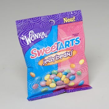 Jelly Bean Tarts - Sweetarts Jelly Beans 3.7 Oz. Bag, Pack Of 12 by RGP