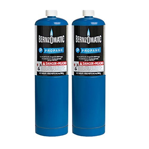 - Standard Propane Fuel Cylinder - Pack of 2