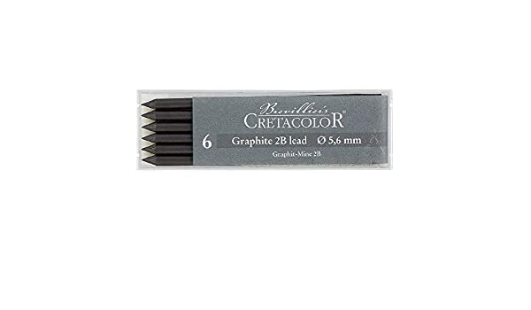Cretacolor 5.6mm Lead Graphite 2B