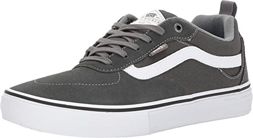 0b0ce44b6d02 Galleon - Vans Kyle Walker Pro Skateboarding Shoe - Gunmetal White (6.5)