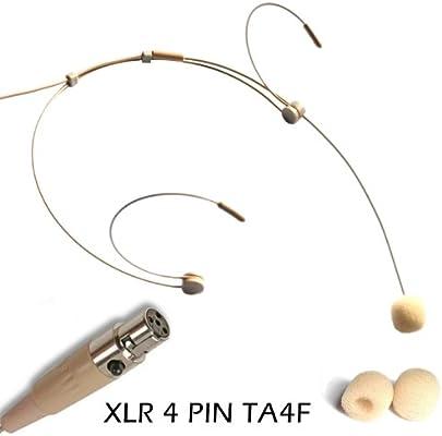 4092 Skin Beige Headset Microphone