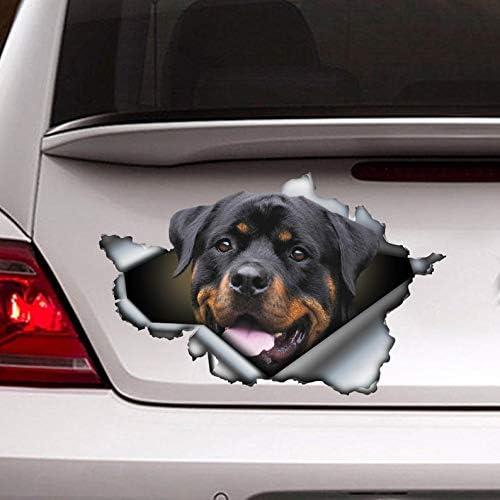I Love RottiesRottweilers DogsStickers Cars Trucks Car Window Decals