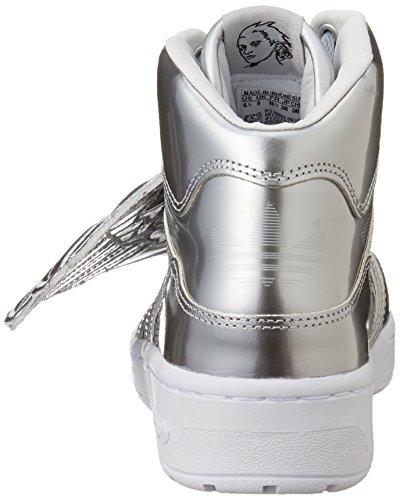 Adulte Metal Gris Adidas Wings Clair Montantes Js Mixte OWOAqFz7