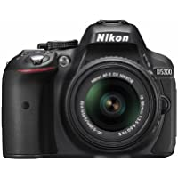 Nikon D5300 24.2 MP CMOS Digital SLR Camera with 18-55mm f/3.5-5.6G ED VR II Auto Focus-S DX NIKKOR Zoom Lens - International Version (No Warranty)
