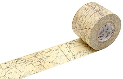 """MT MTPACK13Z""""Vintage Map"""" Washi Masking Tape"""