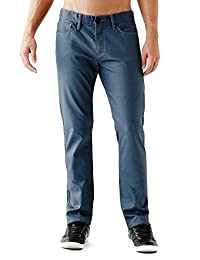 GUESS Rockford Coated Slim Straight Jeans