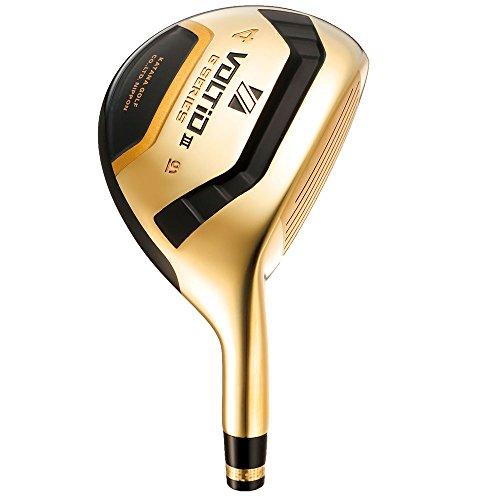 KATANA GOLF(カタナゴルフ) 2015年モデル VOLTiO III G SERIES UT GOLD ユーティリティー グラファイトデザイン TOUR AD シャフト #4/R