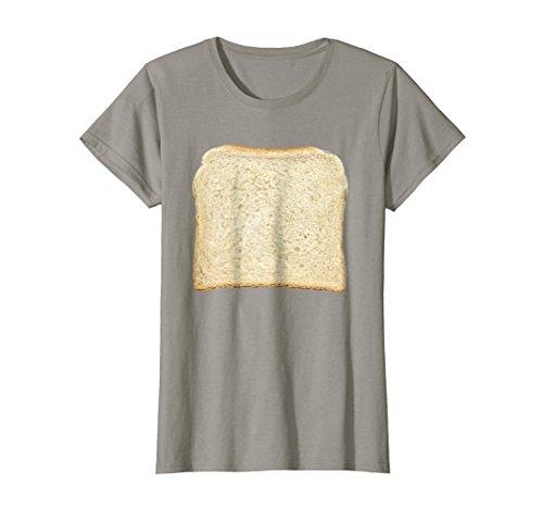 Womens Bread & Toast T-Shirt Halloween Costume Ideas Large Slate