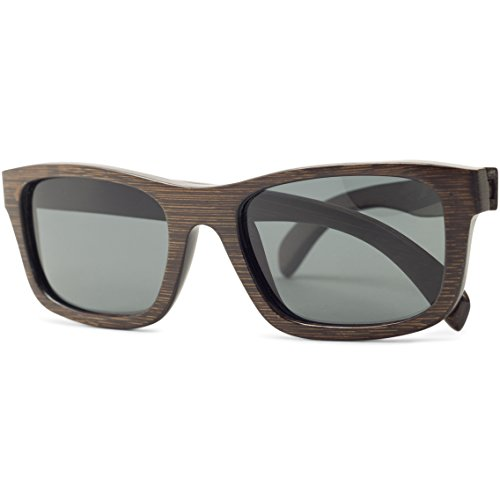 Crest | Bamboo Wood Sunglasses Polarized Lenses for Men/Women by Tree People