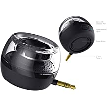 World Smallest Portable Mini Speaker for Cellphone or Tablet, Crystal Clear, Plug and Play (TR-S10)