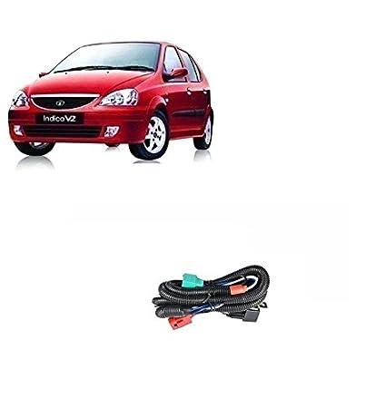 CarBazaar Car H4 Headlight Relay Wiring Harness Relay- Tata Indica on tata cars, tata vista, tata bouncers rentals, tata s monster,