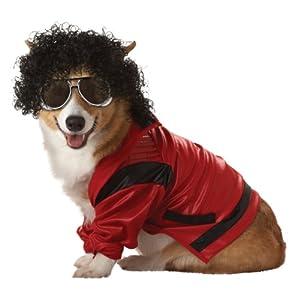 Pup-A-Razzi Pop King Dog Costume, X-Small, Red/Black