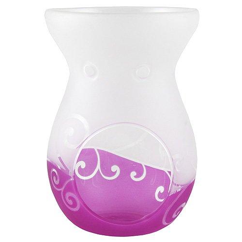 Yankee Candle Violet Brûleur de Cire de défilement, Verre, Violet 1521502