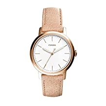 Fossil Women's ES4185 Neely Three-Hand Sand Leather Watch