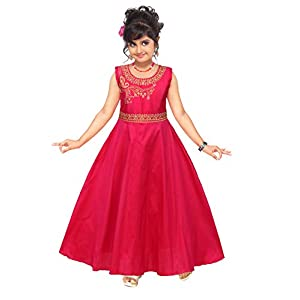 4 YOU Beautiful Deep Pink Gown for Girls