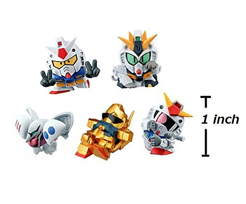 Gashapon Mobile Suit Gundam Ganbare! SD Gundam 02 Set