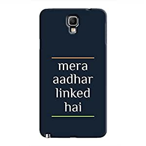 Cover It Up - Mera Aadhar Linked Hai Galaxy Note 3 Neo Hard Case