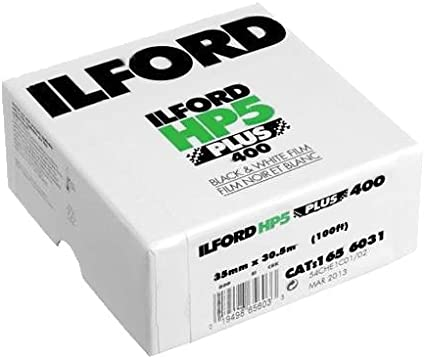Ilford HP5 Plus 35mm 24 Exp B+W Film Pack of 3