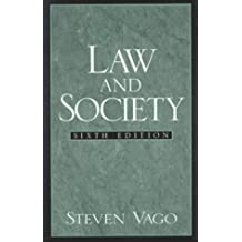 Law and Society by Steven Vago Professor Emeritus (1999-07-27)