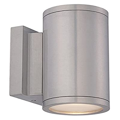 WAC Lighting Tube LED Outdoor Up and Down Wall Light Fixture