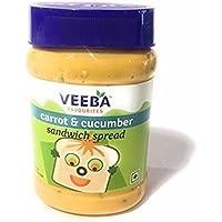 VEEBA CARROT & CUCUMBER SANDWICH SPREAD (PACK OF 2)